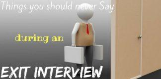 How Handle Exit Interview