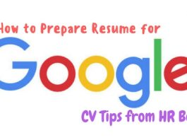 How to Prepare Resume for Google