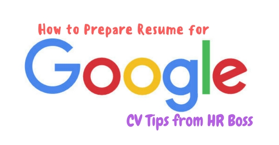 Captivating How To Prepare Resume For Google And Resume For Google