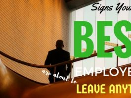Signs Best Employees Leave Anytime