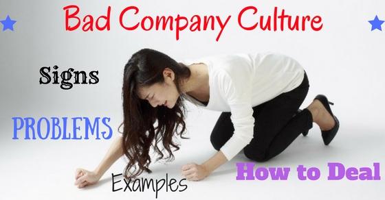 Bad Company Culture