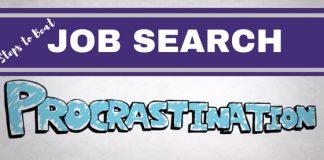 Beat Job Search Procrastination