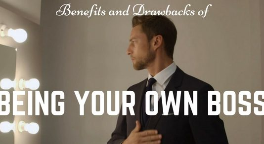 Being your Own Boss Pros Cons