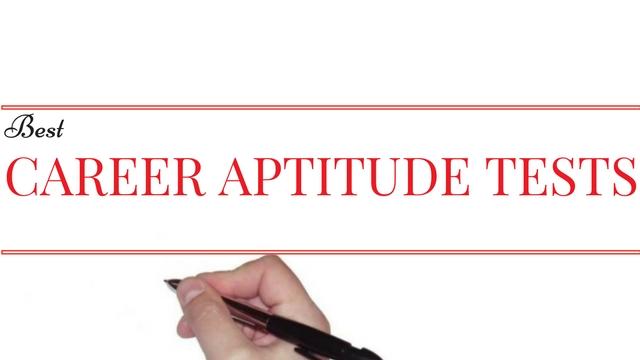 Best Career Aptitude Tests
