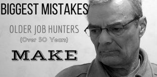 Biggest Mistakes Older Job Hunters Make