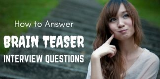 Brainteaser Interview Questions Answers