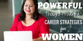 Career Strategies for Women