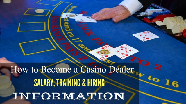 Casino dealer salary uk