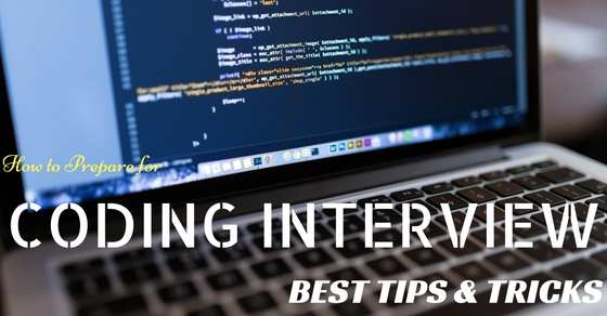 Coding Interview Tips Tricks