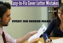 Common Cover Letter Mistakes Fix