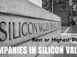 Companies in Silicon Valley