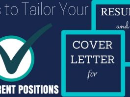 Cover Letter & Resume for Different Jobs