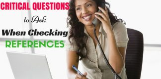 Critical Questions to Ask