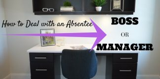 Deal Absentee Boss or Manager