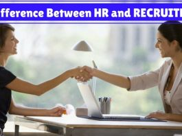 Difference Between HR Recruiter
