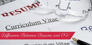 Difference Between Resume and CV