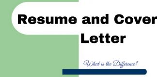 what is the difference between cv and cover letter - resume and cover letter what is the difference