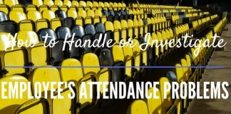 Employee Attendance Problems Issues
