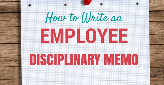 How To Write An Employee Disciplinary Memo  Best Tips  Wisestep