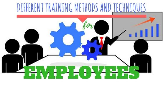 Employees Training Methods Techniques