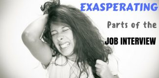 Exasperating Parts of Job Interview