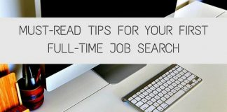First Full-Time Job Search