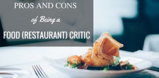 Food Critic Pros Cons