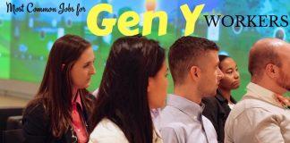 Gen Y Workers Common Jobs