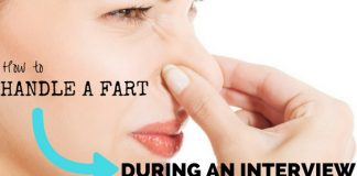 Handle Fart During an Interview