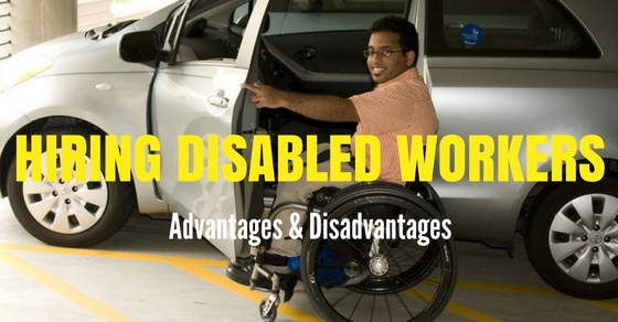 the advantages of hiring disabled employees Choose a disability employment policy resource by topic tax incentives for employers private-sector businesses that make structural adaptations or other accommodations for employees or customers with disabilities may be eligible for tax incentives.