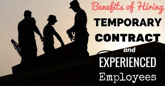Hiring Temporary Contract Experienced Employees