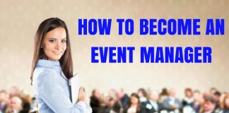 How to Become an Event Manager