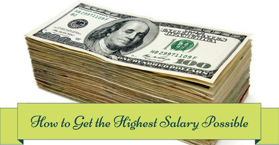 How to Get Highest Salary