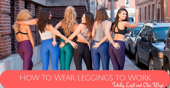 How to Wear Leggings to Work