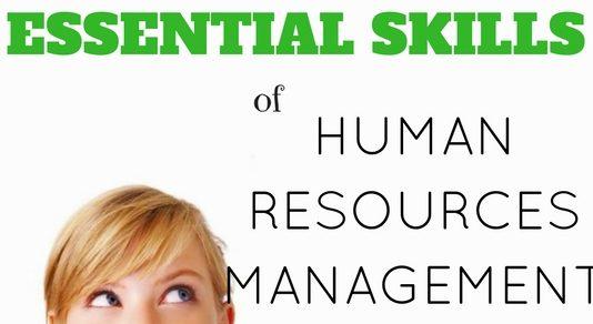 Human Resources Management Essential Skills