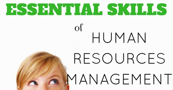 Human Resources Management Essential Skills