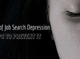 Job Search Depression Causes