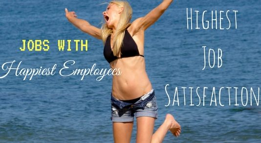 Jobs with Happiest Employees