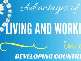 Living Working in Developing Country