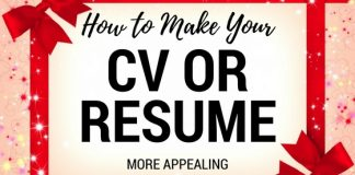 Make CV More Appealing