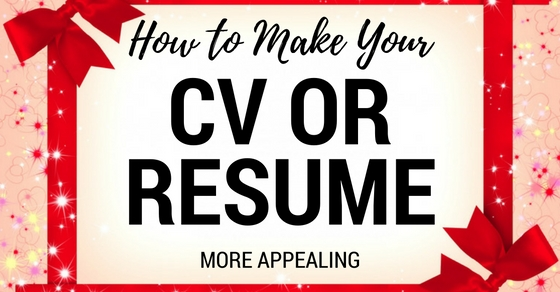 Make CV More Appealing
