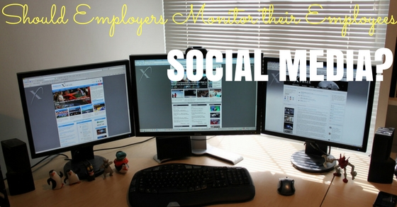 Monitoring Employee Social Media