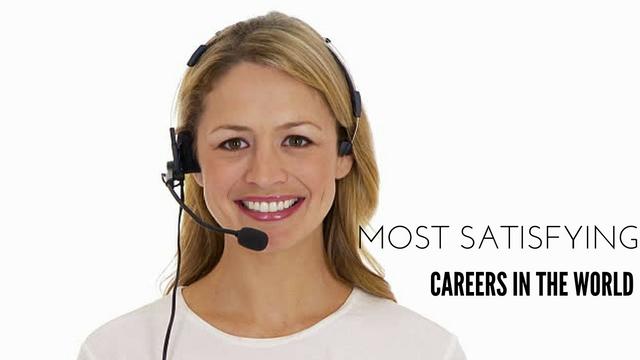 most satisfying careers