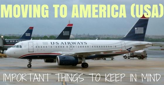 Moving to America (USA)