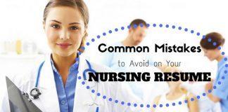 Nursing Resume Common Mistakes