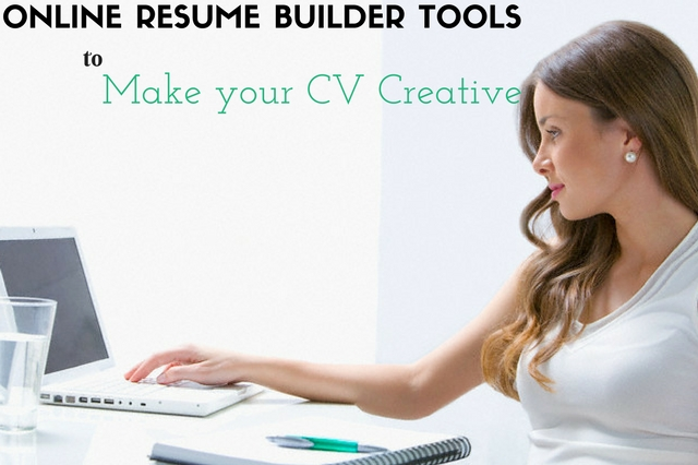 10 online resume builder tools to make your cv creative