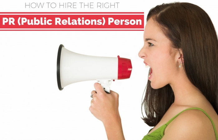 public relations person