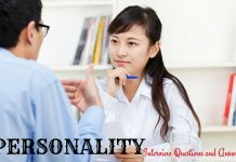 Personality Interview Questions Answers