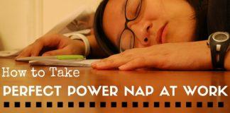 Power Nap at Work