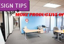 Productive Office Design Tips